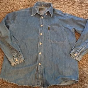 Armani Jeans Giorgio Armani denim shirt